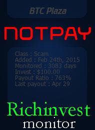 ссылка на мониторинг http://richinvestmonitor.com/?a=details&lid=15360