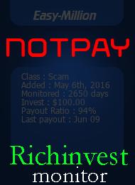 ссылка на мониторинг http://richinvestmonitor.com/?a=details&lid=17651