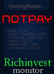 ссылка на мониторинг http://richinvestmonitor.com/?a=details&lid=17712