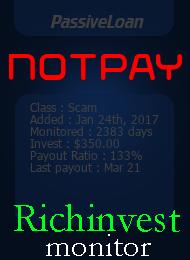 richinvestmonitor.com - hyip passive loan