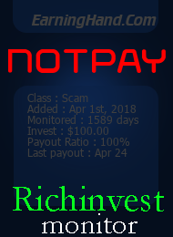 richinvestmonitor.com - hyip earning hand