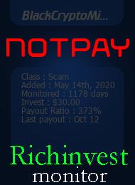 ссылка на мониторинг https://richinvestmonitor.com/?a=details&lid=84974
